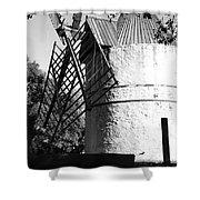 Moulin De Paillas Shower Curtain