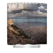 Mount Laguna At Dusk Shower Curtain