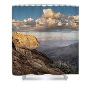 Mount Laguna Rocks And Sunset Shower Curtain