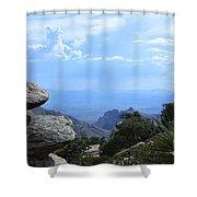 Mount Lemmon View Shower Curtain