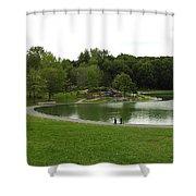 Mount Royale Parc Shower Curtain