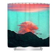 Mountain Daybreak Shower Curtain