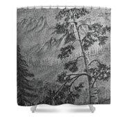 Mountain Outlook Shower Curtain