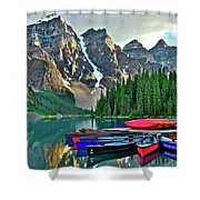 Mountain Tranquility Shower Curtain