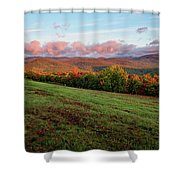 Mountain View Shower Curtain by Jeff Sinon