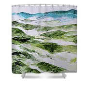 Mountains At Shenandoah 201849 Shower Curtain