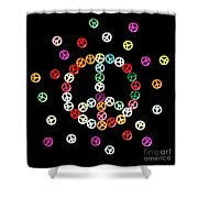 Movement Of Unity Shower Curtain