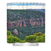 Mt Piddington - Nsw - Australia Shower Curtain
