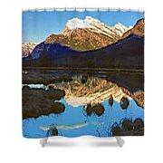 Mt Rundle Shower Curtain
