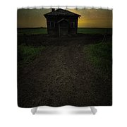 Mud Hole  Shower Curtain