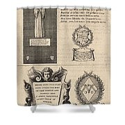 Mullins And Baskerville  Monument   State    Shower Curtain