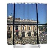 Musei Capitolini Shower Curtain