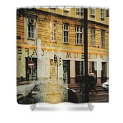 Museum Cafe Shower Curtain