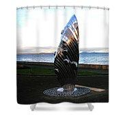 Mussel Burgh Shower Curtain