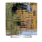 Muted Reflections Shower Curtain by Kate Brown