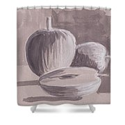 My Apples Shower Curtain