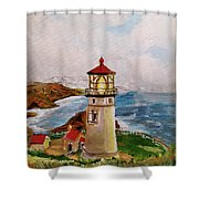 My Lighthouse Shower Curtain