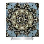 Mystic Mandala Shower Curtain