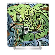 Mystical Powers Shower Curtain