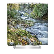 Nantahala Fall Flow Shower Curtain
