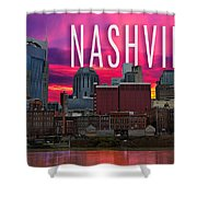 Nashville Shower Curtain