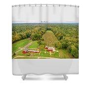 Nathan Hale Homestead Shower Curtain
