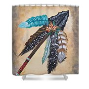 Native American Style  Shower Curtain