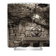 Nativity Cave Shower Curtain