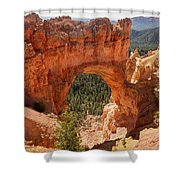 Natural Bridge - Bryce Canyon - Utah Shower Curtain