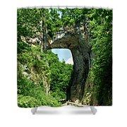 Natural Brige  Shower Curtain