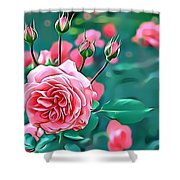 Naturalness And Flowers 31 Shower Curtain
