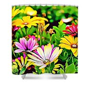 Naturalness And Flowers 35 Shower Curtain