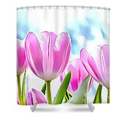 Naturalness And Flowers 40 Shower Curtain