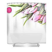 Naturalness And Flowers 42 Shower Curtain