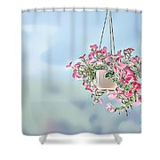 Naturalness And Flowers 43 Shower Curtain