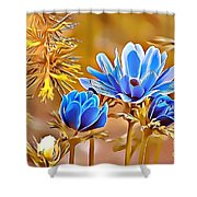 Naturalness And Flowers 47 Shower Curtain