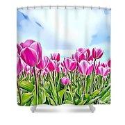 Naturalness And Flowers 48 Shower Curtain