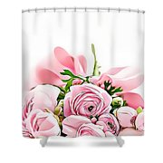 Naturalness And Flowers 49 Shower Curtain