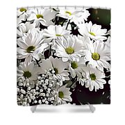 Naturalness And Flowers 52 Shower Curtain