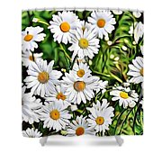 Naturalness And Flowers 57 Shower Curtain