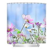 Naturalness And Flowers 59 Shower Curtain