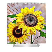 Naturalness And Flowers 60 Shower Curtain