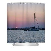 Naxos Island Shower Curtain