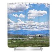 Near Princeton British Columbia Shower Curtain