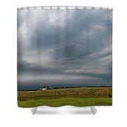 Nebraska Supercell 002 Shower Curtain by Dale Kaminski