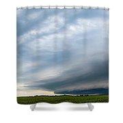 Nebraska Supercell 005 Shower Curtain by Dale Kaminski