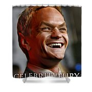 Neil Patrick Harris Shower Curtain