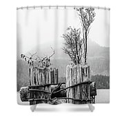 New From Old Shower Curtain