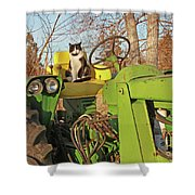 New Hired Hand Shower Curtain