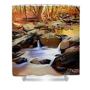 New Jersey Pines Shower Curtain